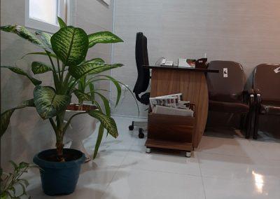 محیط درمانگاه شهر راز در شیراز