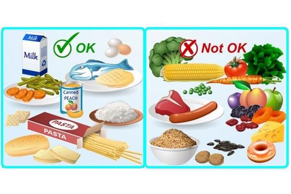 رژیم غذایی مناسب برای کولونوسکوپی